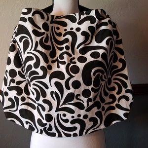 Handbags - BLACK AND WHITE TOTE